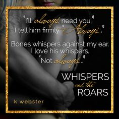 """#ReleaseBlitz """"Whispers and the Roars"""" by K. Webster – Musings of the Modern Belle"""