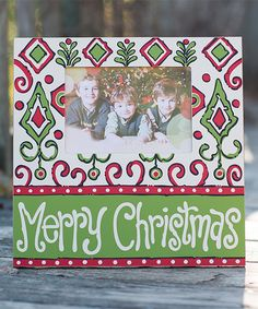 Look at this 'Merry Christmas' Frame on #zulily today!