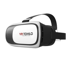 """ToHLo 3D VR Virtual Reality Headset 3D Glasses VR for iPhone 6 6plus Samsung Galaxy s5 s6 note4 note5 and Other 4""""-6.0"""" Cellphones. 1:Mobile phone 3D cinema,it can own you 3D VIP cinema.It can give you 3D realistic gaming experience.IMax experience at home,at office, at park,by train,by bus,by airplane,at any time and any where. 2:It compatible with different phones,compatible with 4-6 inch smartphone such as samsung note series,iPhone 5s/6,and other mobile phone. 3:You can slightly…"""
