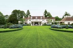 This incredible Colonial Revival house in Southampton, New York was built in the early 1900s.