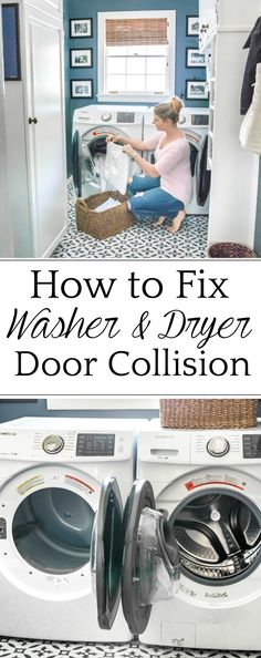 How to cross washer and dryer connections to prevent door collision   why we love our Samsung set to make us more efficient in tackling our laundry pile.