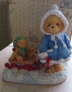 Enescos Cherished Teddies Mary A Special Friend Warms The Season #912840 MIB