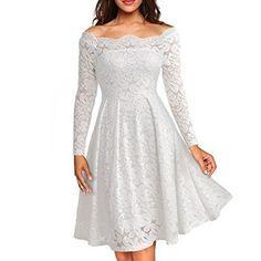 e4baa17c66c Women Dress Womens Lace Floral Dress Clothing   Women Dress Pattern Type   Solid Neckline  Slash neck Dresses Length  Above Knee