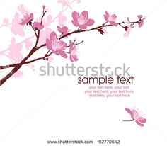 Stock Images similar to ID 145078117 - card design with apple tree