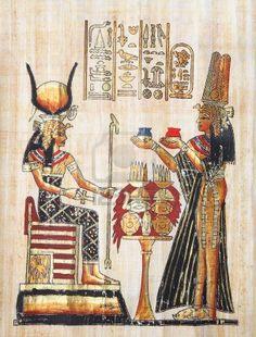7425063-papiro-con-elementos-de-la-historia-de-antigua-egipcio-