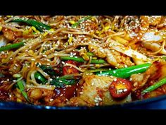 진~짜 대박집보다 맛있는 '콩나물불고기' 역대급 레시피 무조건 따라하세요 - YouTube Korean Food, Korean Recipes, Japchae, Cooking Recipes, Meat, Chicken, Ethnic Recipes, Pickles, Winter