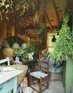 Herb room ☽☯☾magickbohemian