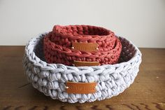 Crochet Baskets for Home Storage Solutions