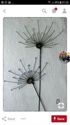 Excellent Photos Metal Wall Art diy Style Artwork is definitely an expression. In regards to decorating your house, it can have fun with a tremendous po. Wire Wall Art, Metal Wall Art, Wire Crafts, Metal Crafts, 3d Zeichenstift, Stylo 3d, Art Fil, Wire Art Sculpture, Wire Ornaments