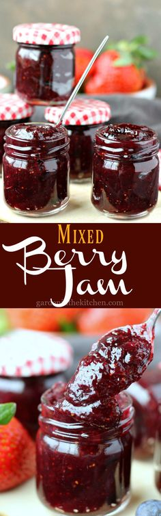 Rhubarb Berry Jam