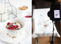 food photography tips on white | insimoneskitchen.com