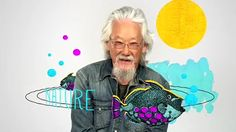 Katy Lemay did the illustrations for an candid and animated video to celebrate the 80th anniversary of David Suzuki for CBC.