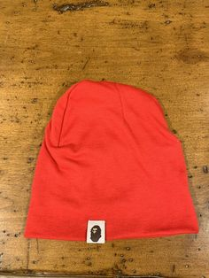 3fa51331 A BATHING APE Men's Goods ONE POINT KNIT CAP BEANIE BAPE Red #fashion  #clothing