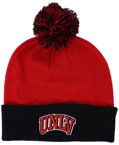 Top of the World Unlv Runnin' Rebels 2-Tone Pom Knit Hat