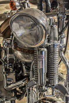 Custom Bobber, Custom Choppers, Custom Bikes, Antique Motorcycles, Cars And Motorcycles, Trike Chopper, Harley Bikes, Motorcycle Art, Road King