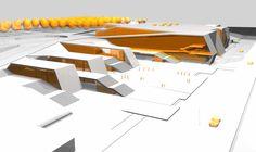 Zamet Sports Center, Rijeka Building, Croatia - e-architect Roof Architecture, Canteen, Croatia, Ribbon, Cases, Sport, Gallery, Image, Tape