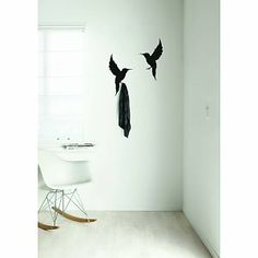 Animal wildlife wall stickers Safari Friends from KEK Amsterdam. Living Room White, Living Room Interior, Eames Dsw Chair, Diy Design, Modern Design, Amsterdam, Fireplace Garden, Wall Stickers, Interior Architecture