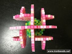 3d lyserødt træ