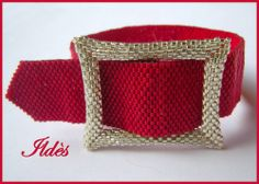 bracelet ceinture rouge - #beads