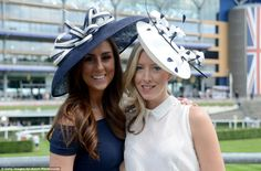 As per the strict dress code of Royal Ascot, these ladies donned exquisite hats and fitted dresses for their day out at the Berkshire racecourse