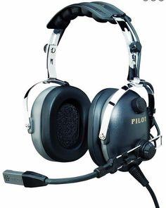 3bc64307884 NIB PilotUSA PA-1160AI R Aviation Pilot PNR Headset ICOM Handheld Radios RH  Plug