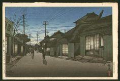 Ishiwata+Koitsu+-+Twilight+at+Imamiya+Street,+Choshi.jpg 1,000×682 pixels