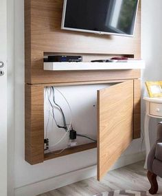 diy living room entertainment center – Seating and Furniture Groups Tv Wall Design, Design Case, Design Design, Living Room Tv, Home And Living, Living Room Ideas With Tv, Living Room And Bedroom Combo, Bedroom Tv Wall, Bed Room