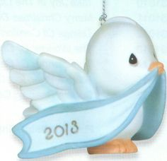 Precious Moments 2013 Dove Christmas Ornament Only $13.99 Save 44% off while they last. Click image to order.