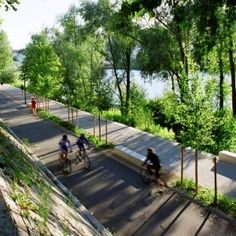 Rhone River Banks by In Situ Architectes Paysagistes