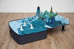 'Portable cities' - Yin Xiuzhen