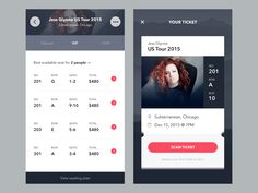 Last week, I made a shot similar to this. Not really satisfied with the result then I tweaked it a bit. Both screens are not related actually. Left: Event detail screen (scrolled state) Right: Ti...