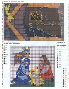 grafico de retablo A1 NAVIDAD NAVIDAD DULCE NAV.... | Aprender manualidades es facilisimo.com
