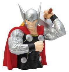 Marvel Comics Spardose Modern Thor 20 cm  Marvel Comics Spardosen - Hadesflamme - Merchandise - Onlineshop für alles was das (Fan) Herz begehrt!