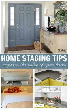 Home Staging Tips and Ideas - Improve the Value of Your Home