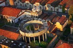 Crespi d'Adda (old working village) - Capriate San Gervasio, Italy