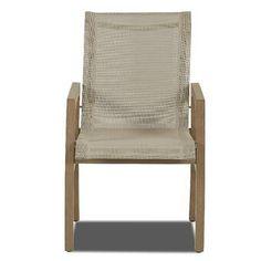 PatioSense Vega Armchair   Wayfair Patio Chairs, Outdoor Chairs, Outdoor Furniture, Outdoor Decor, Folding Lounge Chair, How To Distress Wood, Mid Century Design, Midcentury Modern, Living Area