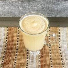 Peanut Butter-Maple Milkshake - Allrecipes.com -- No ice cream in this shake, but still yummy!  #MyAllrecipes #AllrecipesAllstars #AllrecipesFaceless