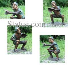 Baseball Catcher Bronze Sculpture