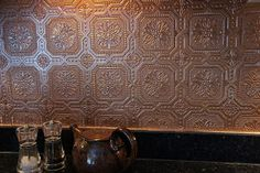 1000 images about kitchens and dining rooms on pinterest for Textured wallpaper backsplash