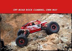 Ewellsold RC Car Rock Crawlers Driving Car Double Motors Drive Bigfoot Car Remote Control Model Off-Road Vehicle Toy Bigfoot, Rc Cars, Rock Climbing, Mobiles, Offroad, Motors, 4x4, Computers, Bluetooth