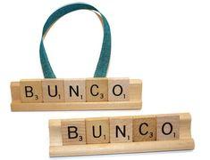 Bunco, Bunco Gift, Bunco Night, Christmas Ornament, Scrabble Ornament, Scrabble, Bunco Decor, Christmas, Game Night, Bunco Dice Ornament