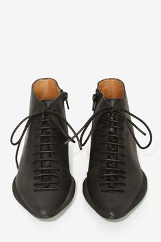 Jeffrey Campbell Aberse Leather Shoe - Jeffrey Campbell |  | Sneakers | Shoes | Sale on Sale