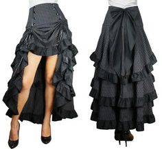 I'm sure I could find a few costumes to wear this skirt for :)