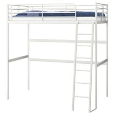 TROMSÖ Loft bed frame - Twin - IKEA Also to be in my cute studio apartment! 701.618.34