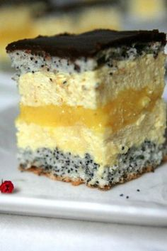Romanian Desserts, Romanian Food, Food Cakes, Mousse, Cake Recipes, Sweet Treats, Cheesecake, Deserts, Food And Drink