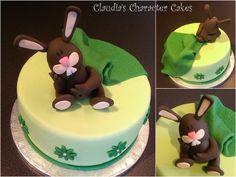 Torte Häschen mit Kuscheldecke | Rabbit with blanket Cake