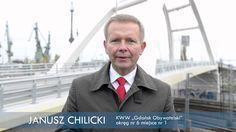 Janusz Chilicki kandydat KWW Gdańsk Obywatelski do Rady Miasta - Jawność...