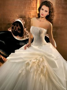 Search Used Wedding Dresses & PreOwned Wedding Gowns For Sale Cheap Wedding Dresses Uk, Puffy Wedding Dresses, Fall Wedding Gowns, Yellow Wedding Dress, Most Beautiful Wedding Dresses, Wedding Dress 2013, Luxury Wedding Dress, Bridal Dresses, Bridesmaid Dresses