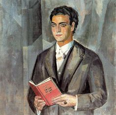 """Gregorio Prieto Muñoz 1922 """"Retrato de Juan Chabás"""""""
