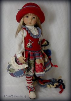 """""""Cottage Charm"""" for Dianna Effner Little darlings - by DressUps by pj"""